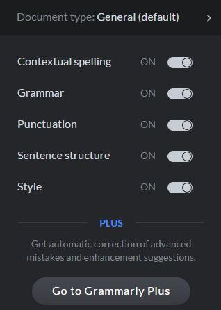 Grammarly Free