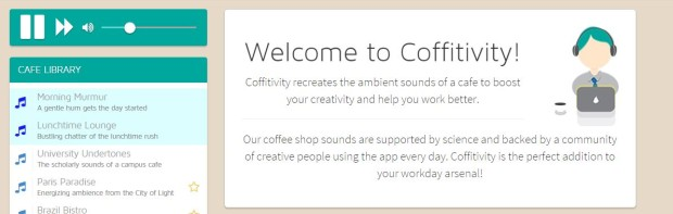Coffivtivy for productivity