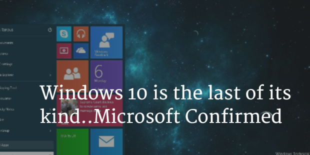 Windows 10 last OS