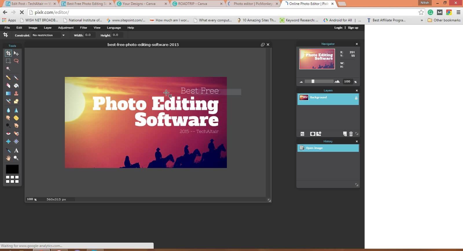 Best Free Photo Editing Software 2015 Techaltair