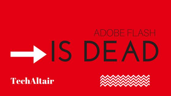 adobe flash is dead