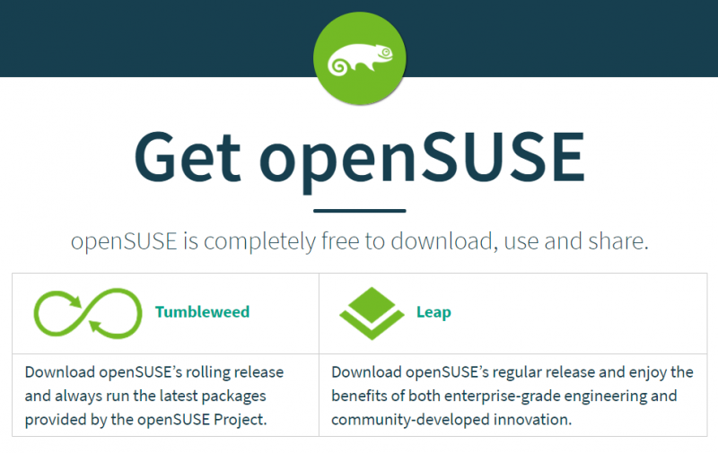 Get openSUSE